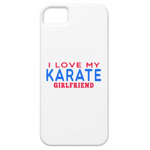 I Love My Karate Girlfriend Cover For iPhone 5/5S
