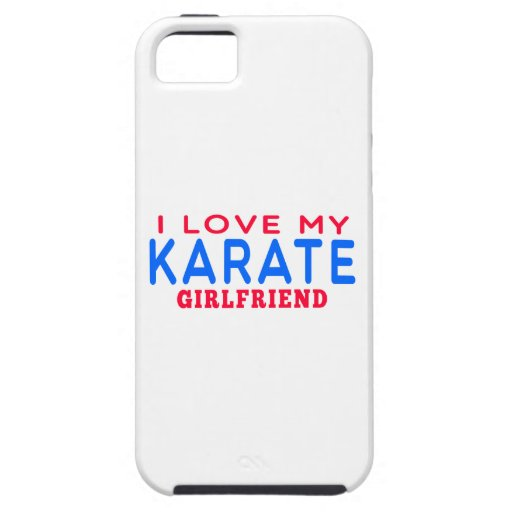 I Love My Karate Girlfriend iPhone 5/5S Cases