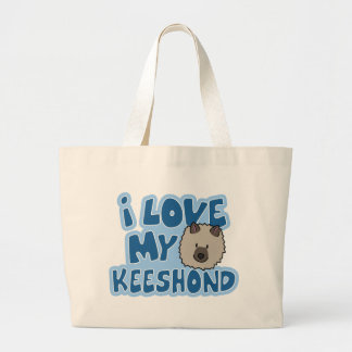 I Love My Keeshond Bag