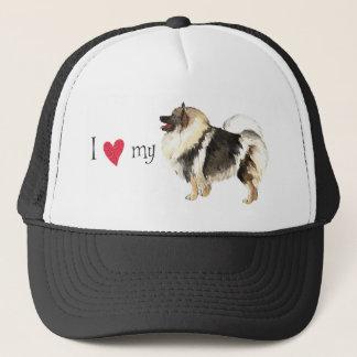 I Love my Keeshond Trucker Hat