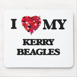 I love my Kerry Beagles Mouse Pad
