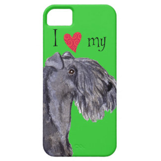 I Love my Kerry Blue Terrier iPhone 5 Cases