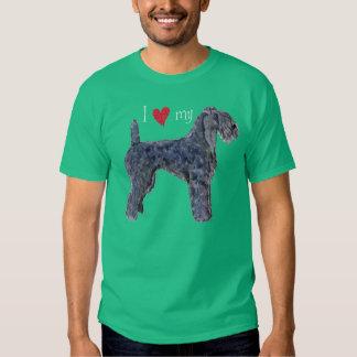 I Love my Kerry Blue Terrier T Shirt