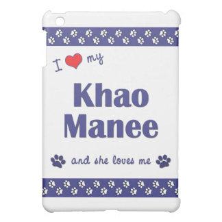 I Love My Khao Manee (Female Cat) iPad Mini Cover