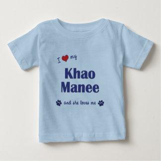 I Love My Khao Manee (Female Cat) Shirt