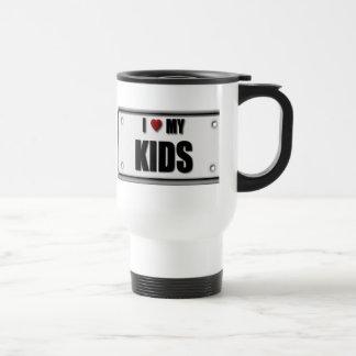 I Love My Kids Travel Mug