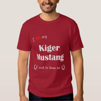 I Love My Kiger Mustang (Male Horse) Shirt