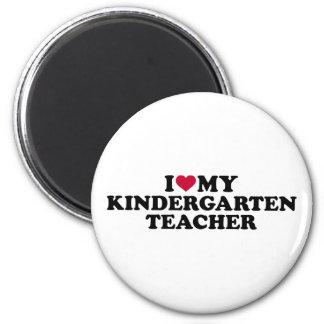 I love my kindergarten teacher magnet