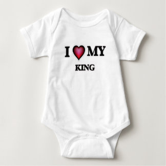 I love my King Baby Bodysuit