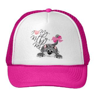 I Love My Kitty Kat Hat