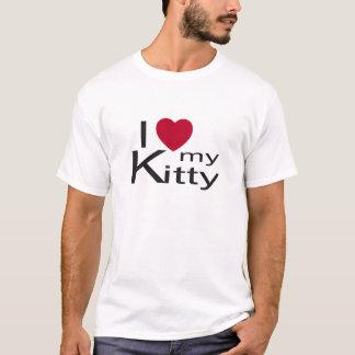 I love my kitty kids shirt