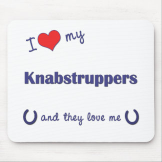 I Love My Knabstruppers (Multiple Horses) Mouse Pad