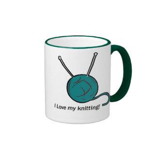 I love my knitting mug