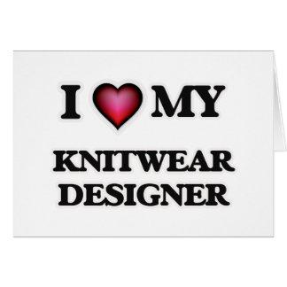 I love my Knitwear Designer Card