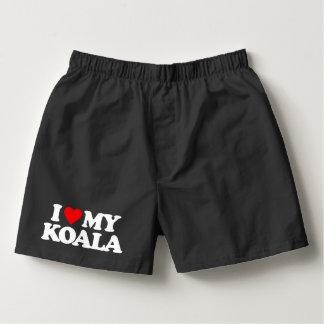 I LOVE MY KOALA BOXERS