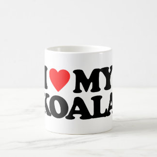 I LOVE MY KOALA COFFEE MUG