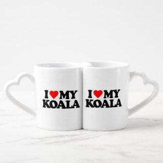 I LOVE MY KOALA COFFEE MUG SET