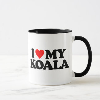 I LOVE MY KOALA MUG