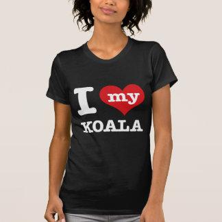 I love my koala tee shirt