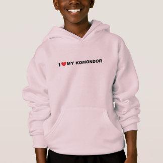 i love my komondor hoodie