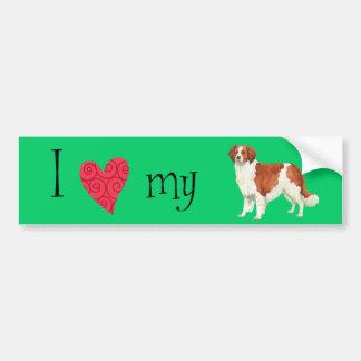 I Love my Kooikerhondje Bumper Sticker