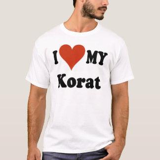 I Love My Korat Cat Merchandise T-Shirt