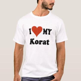 I Love My Korat Cat T-Shirt