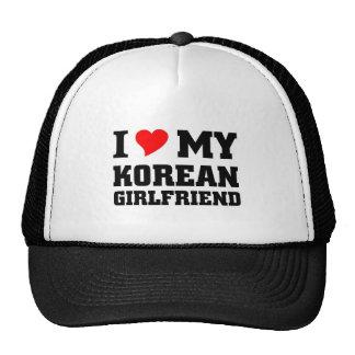 I love my Korean Girlfriend Trucker Hat
