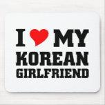 I love my Korean Girlfriend Mouse Pad