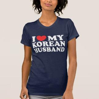 I Love My Korean Husband Tee Shirts