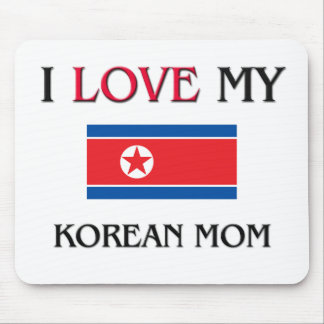 I Love My Korean Mom Mouse Pad