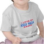 I Love My Krav Maga Daddy Tee Shirt