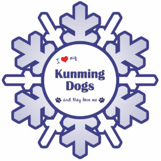 I Love My Kunming Dogs (Multiple Dogs) Cutout