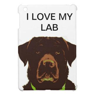 I LOVE MY LAB ipad mini case