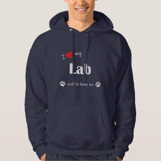 I Love My Lab (Male Dog) Sweatshirts