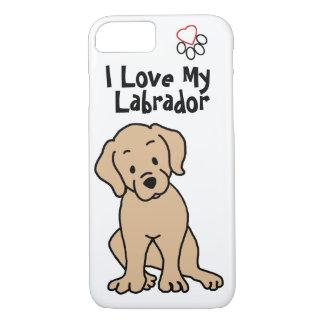 I Love My Lab Phone Case