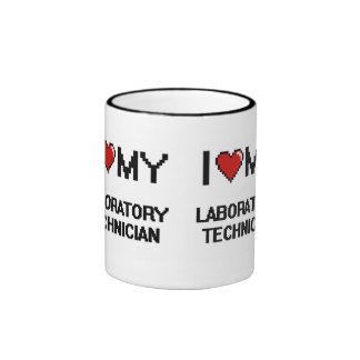 I love my Laboratory Technician Ringer Mug