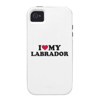 I love my Labrador iPhone 4/4S Covers