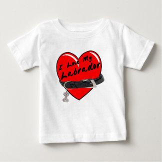 I Love My Labrador Infant Shirt