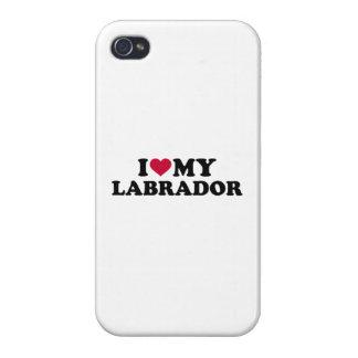 I love my Labrador iPhone 4 Case