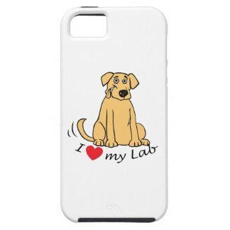 I Love my labrador iPhone SE/5/5s Case