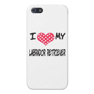 I LOVE MY LABRADOR RETRIEVER COVER FOR iPhone SE/5/5s