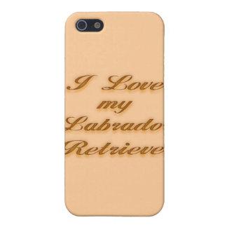 I Love my Labrador Retriever iPhone SE/5/5s Case