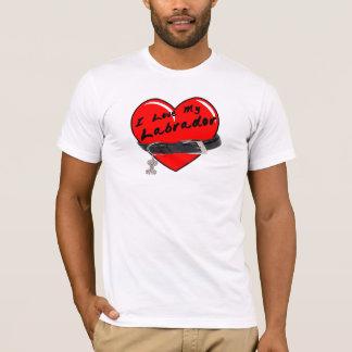 I Love My Labrador T-Shirt