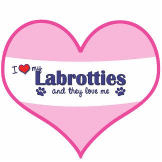 I Love My Labrotties (Multiple Dogs) Statuette
