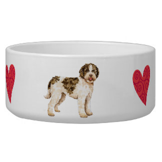 I Love my Lagotto Bowl