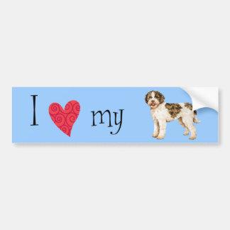 I Love my Lagotto Romagnolo Bumper Stickers