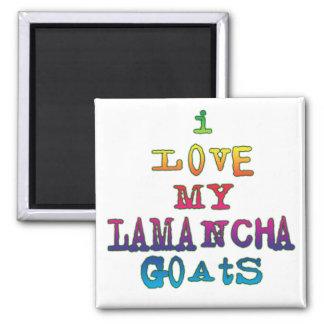 I Love My LaMancha Goats Magnet