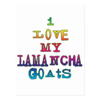 I Love My LaMancha Goats Postcard