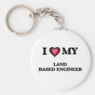 I love my Land Based Engineer Keychain
